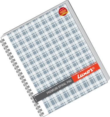 Buy Luxor 44 (Pack of 5) A5 Notebook Spiral Bound: Diary Notebook
