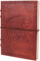 Store Indya Leather Regular Diary Hard Bound (Brown) - DIAEDQDFGKSWA6WE