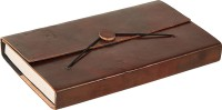 Pick Indiana Hard Binding Leather Diary Regular Diary Hard Bound (Brown)