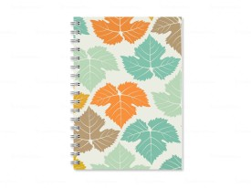 POOLS Multicolor Printed A5 Diary Spiral Bound