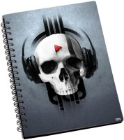 Shoprock Kick Memoirs A5 Notebook Ring Bound (Grey)