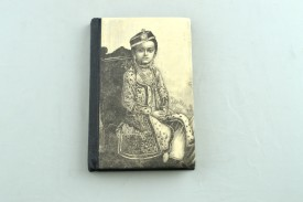Capra Recycled, Handmade, Handcrafted Book-size Notebook Hand Sewn