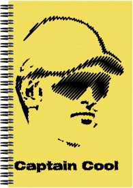 Art Emporio Dhoni Captain Cool A5 Notebook Spiral Bound