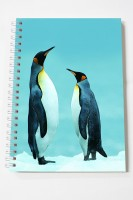 Thomson Press Penguin A5 Note Pad Spiral Bound (Multi Color)