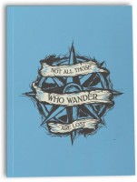 The Souled Store. Regular Notebook (Printed, Sky Blue)