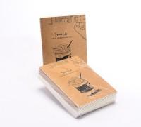 Enwraps Doodle Smile Pocket-size Note Pad Soft Bound (Multi Colour, Pack Of 10)