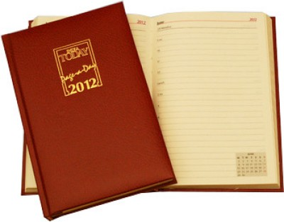 Buy India Today Page-A-Day Diary: Diary Notebook