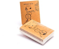 Enwraps Doodle Wherever You Go Pocket-size Note Pad Soft Bound (Multi Colour, Pack Of 10)