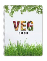 Nightingale Veg Book A4 Notebook Spiral Bound (Printed)