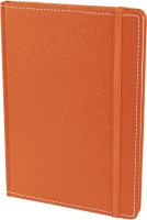 Ecoleatherette Handcrafted Cover Journal A5 Diary Hard Bound (Orange)