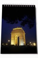 Thomson Press India Gate A5 Note Pad Spiral Bound (Multi Color)