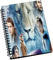 AMY Chronicles Of Narnia The Voyage Characters A5 Notebook Spiral Bound (Multicolor)