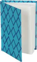 Rajrang Recycled Handmade A6 Notebook Hard Bound (Green, Blue)