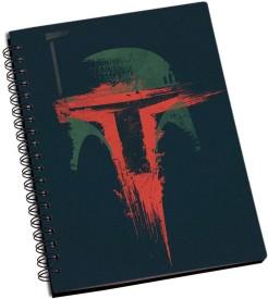 RangeeleInkers Star Wars Helmet Painting A5 Notebook Spiral Bound