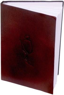 Eternal Gandhi Souvenirs Leather Small Mark II Regular Notebook Case Bound Red