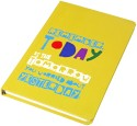 Doodle Remember Today A5 Notebook Hard Bound - Yellow