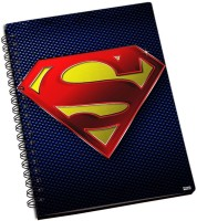Shoprock Superman A5 Notebook Ring Bound (Blue)