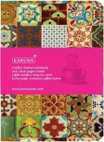 Karunavan Coffee Theme Notebook Soft Bound: Diary Notebook