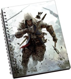 Shoprock Assassin'S Creed A5 Notebook Ring Bound