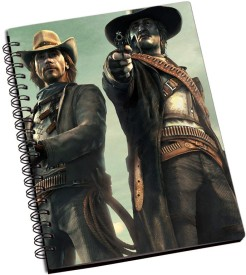 RangeeleInkers Call of juarez bound in blood A5 Notebook Spiral Bound