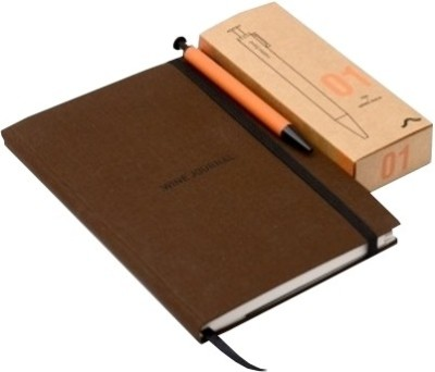 Buy Rubberband Wine (Journal with Pen) Journal: Diary Notebook