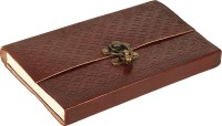 Pick Indiana Leather Cover Regular Diary Hard Bound (Brown)