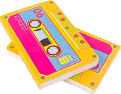 Letternote Cassette - Vivid Notebook Soft Bound Multicolor
