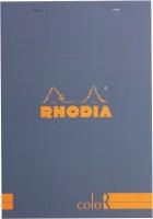 Rhodia A5 Note Pad (Basics Sapphire Blue ColoR - No. 16 - A5 - 210 Mm X 148 Mm, Sapphire Blue)