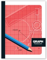 Chitra Graph (Pack Of 8) Regular Notebook Stapled (Multicolor)