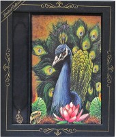 Doodle The Spectacular Peacock A5 Gift Set Hard Bound (Multi-Colour)