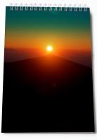 Thomson Press Sun Set A5 Note Pad Spiral Bound (Multi Color)