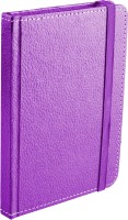 Ecoleatherette Handcrafted Cover Journal A6 Diary Hard Bound (Purple)