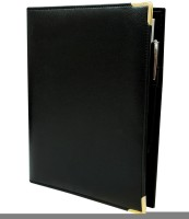 Imagine Products Folders B5 Notebook Spiral Bound (Black, Pack Of 3)