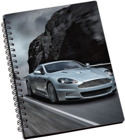 RangeeleInkers Car In Thunder A5 Notebook Spiral Bound