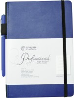 Imagine Products Ruled A5 Notebook Hard Bound (Blue, Pack Of 2)
