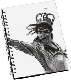 RangeeleInkers Michael Jackson Sketch A5 Notebook Spiral Bound