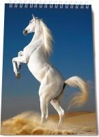 Thomson Press White Horse A5 Note Pad Spiral Bound (Multi Color)