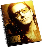 Shoprock Bono Beautiful Day A5 Notebook Ring Bound (Yellow)