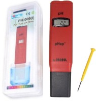 BalRama PH Meter HANNA Digital LCD PH Meter Thermometer (Red)