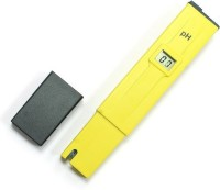 Safeseed LCD Digital LCD PH Meter Thermometer (Yellow)