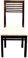Jivan Solid Wood Dining Chair (Set Of 1, Finish Color - Walnut Brown) - DNCEA4F4XFCGYBZW