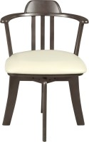 Godrej Interio Solid Wood Dining Chair (Set Of 2, Finish Color - Dark Brown)