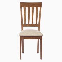 Godrej Interio Solid Wood Dining Chair (Set Of 2, Finish Color - Walnut)