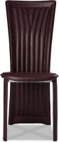 Durian BAZH/36212/A/DC Metal Dining Chair (Set Of 1, Finish Color - Dark Brown)