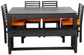 The Attic Solid Wood Dining Set