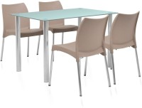 @home Napoli Plastic Dining Set