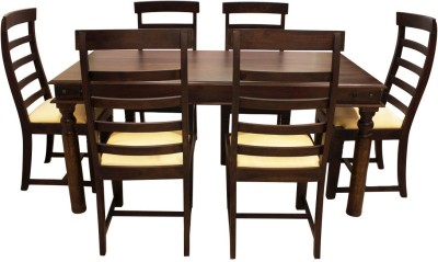 Woodpecker Perth Solid Wood Dining Set Best Price In India