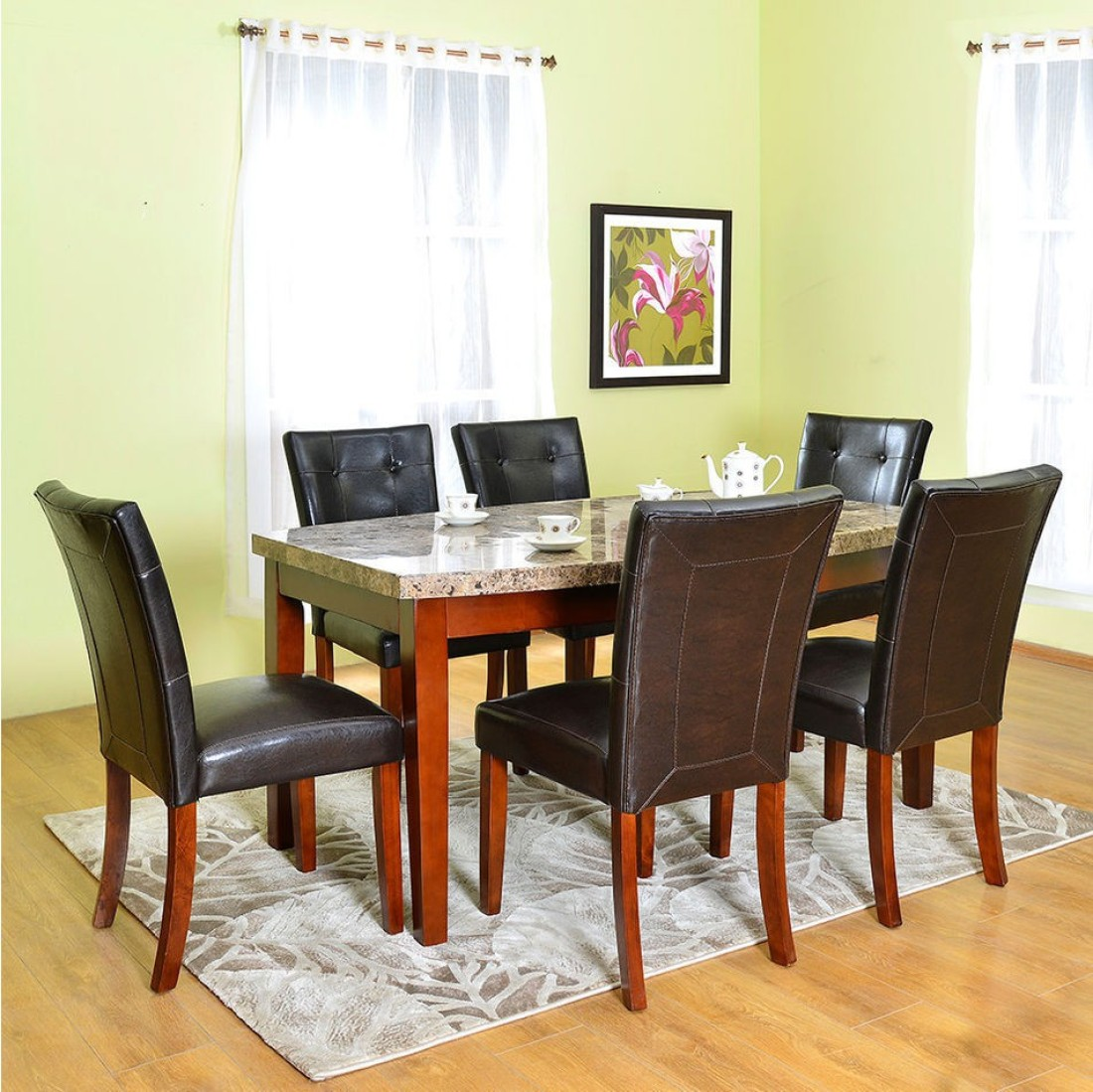 Home By Nilkamal Sage Stone Dining Set Price In India