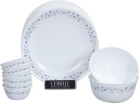 Corelle Lilac Blush Pack Of 14 Dinner Set (Glass)