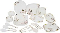 KUNKA Dinner Set Pack Of 41 Dinner Set (Melamine)